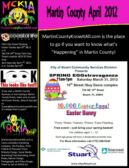 Events in Martin County April 2012