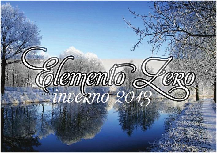 ELEMENTO ZERO 2013 WINTER