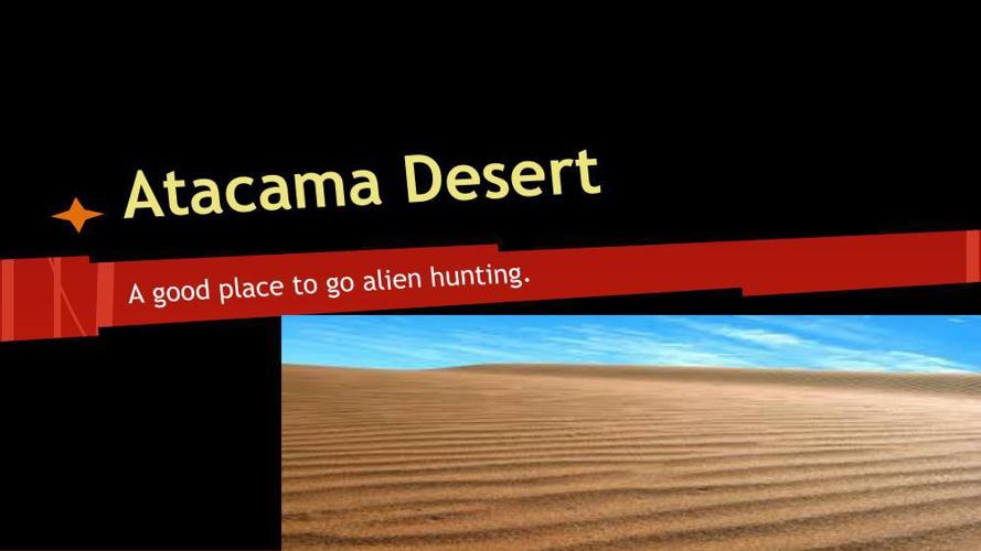 Atacama desert 101