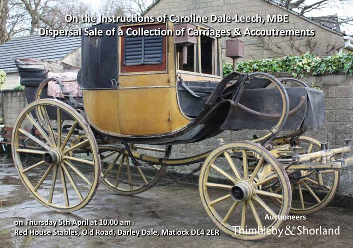 Catalogue for a Dispersal Sale of Carriages & Accoutrements