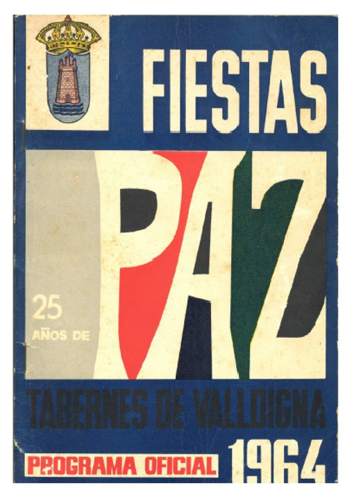Libro fiestas 1964