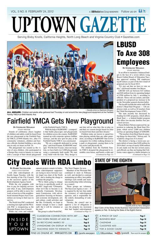 Uptown Gazette     February 24, 2012