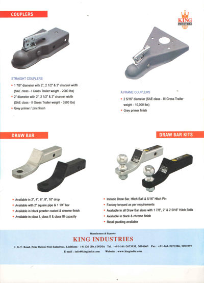 Towing & Trailer Products