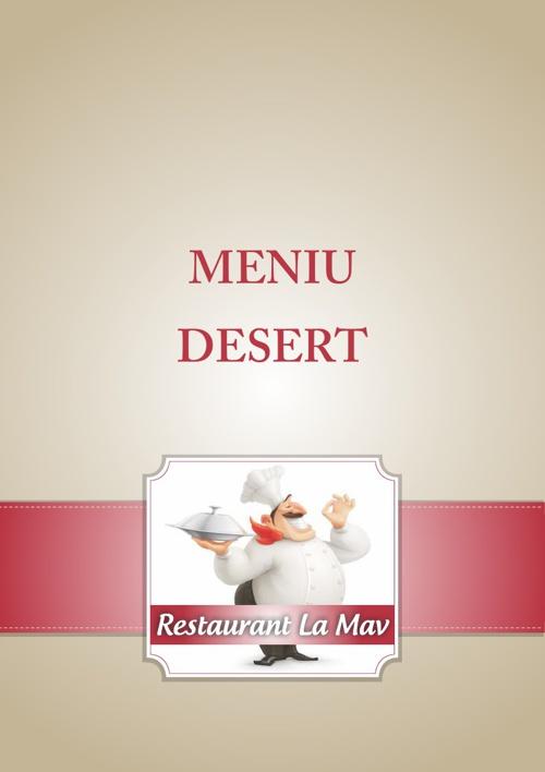 Meniu Desert