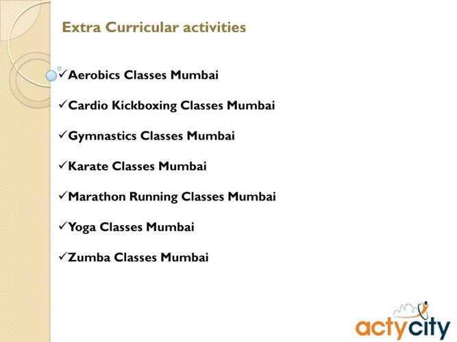 Extracurricular Activities Mumbai