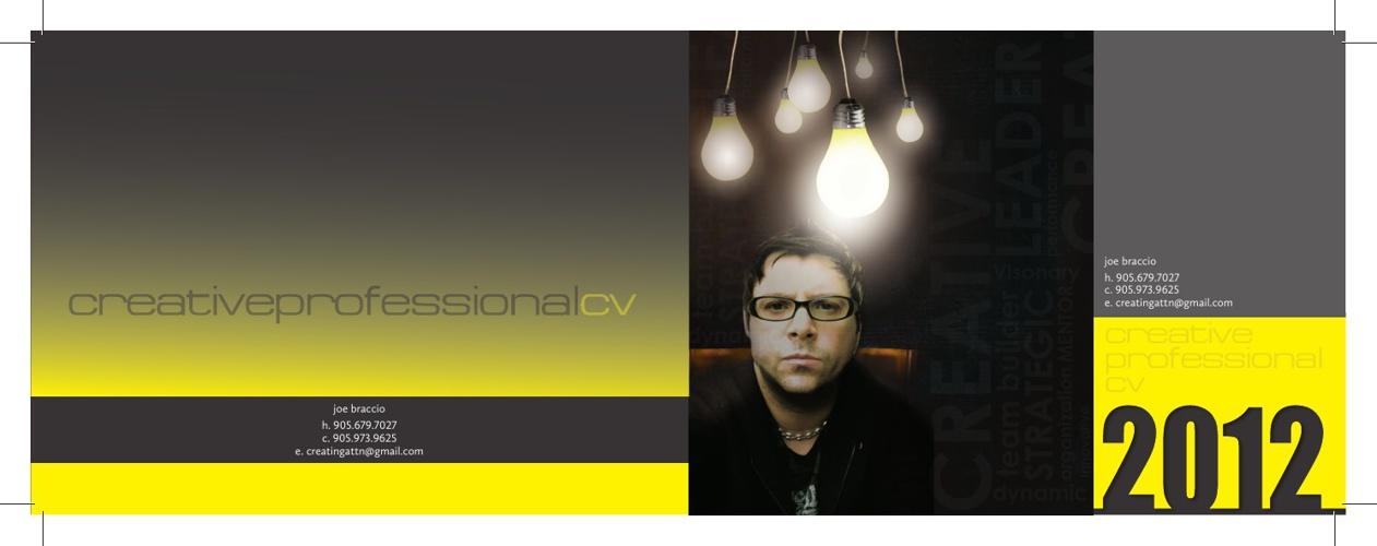 Joe Braccio Creative CV