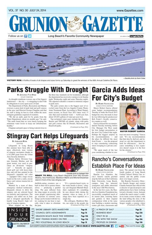 Grunion Gazette | July 24, 2014