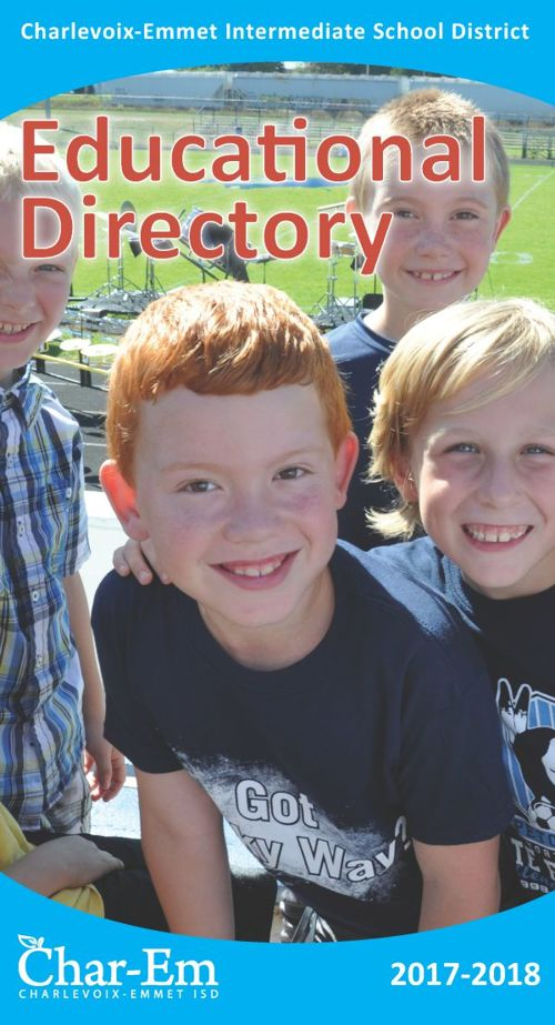 Char-Em ISD Educational Directory / 2017-2018