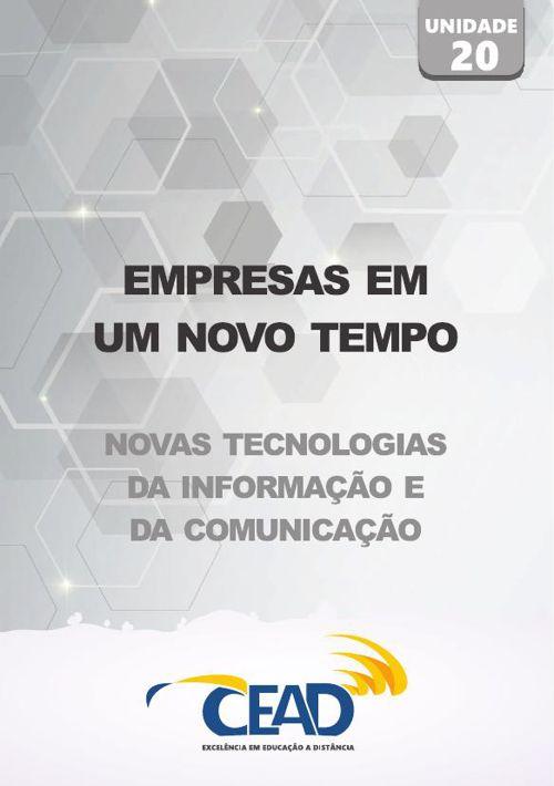 NOVAS TECNOLOGIAS - UNIDADE 20
