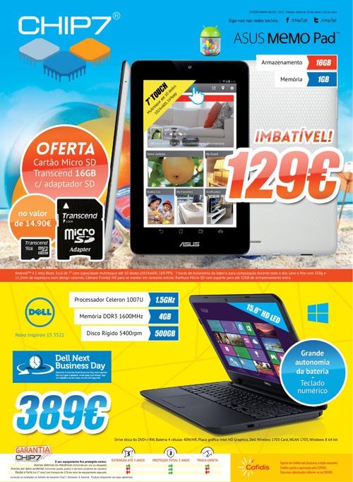 Folheto Chip7 2013 | Junho - Julho