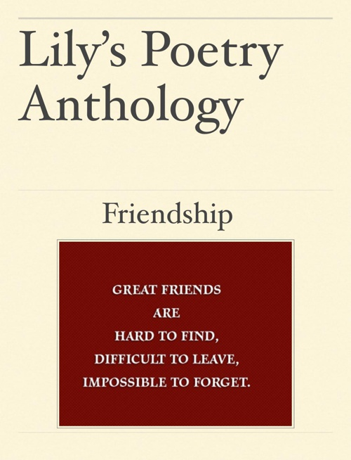 Lily's Poetry