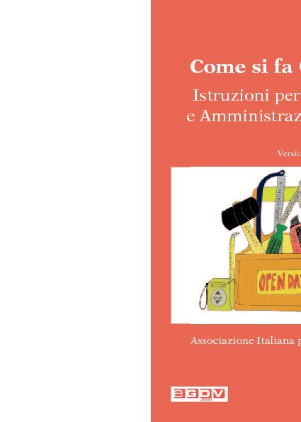 Come si fa Open Data