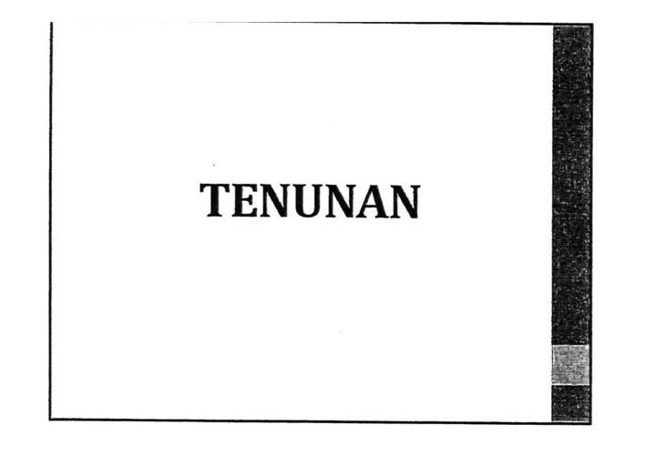 Tenunan