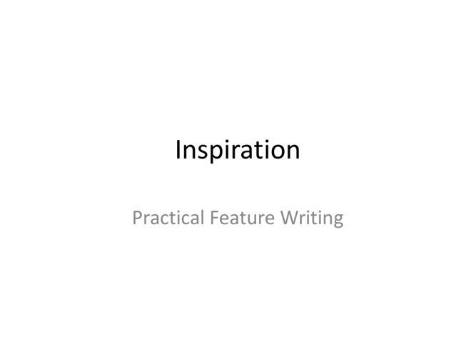 Copy of Inspiration