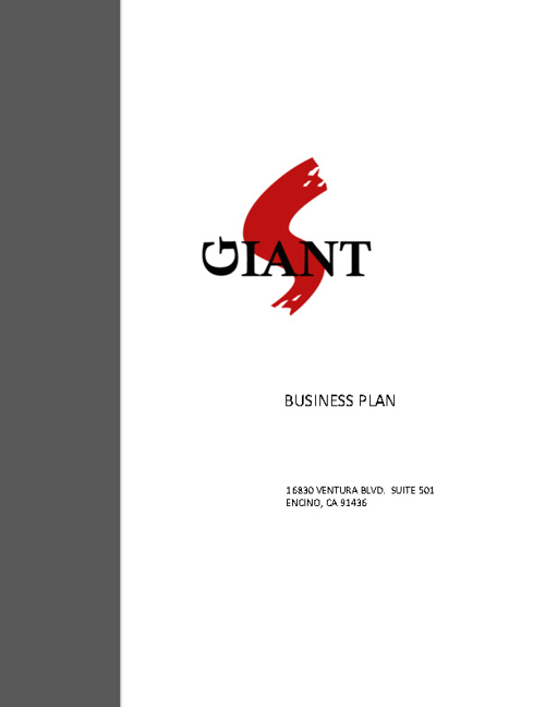 Sleeping Giant Music Group Business Plan