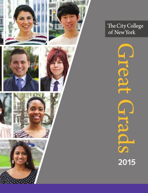 The City College of New York Great Grads 2015