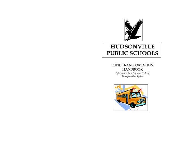 Pupil Transportation Handbook Printed Version