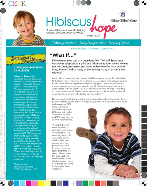 Hope Newsletter Winter 2012
