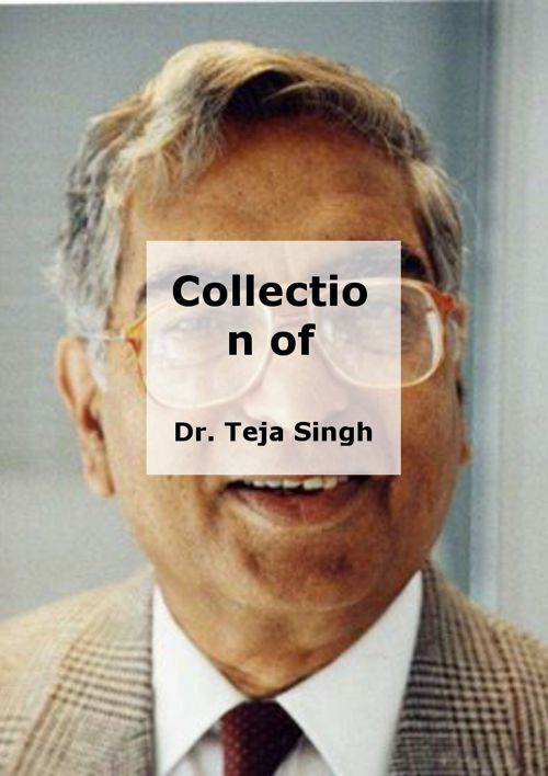 Collection of Poems by Dr. Teja Singh