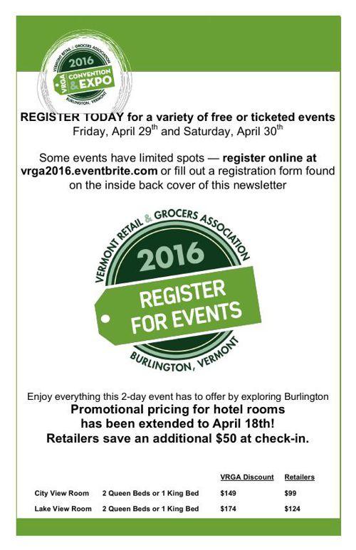 April 2016 For FLip Snack