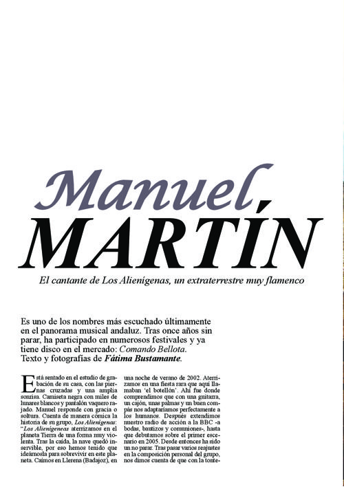 Entrevista Manuel Martín