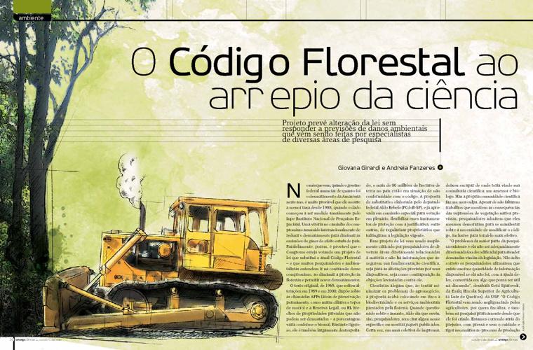 O Código Florestal ao arrepio da ciência