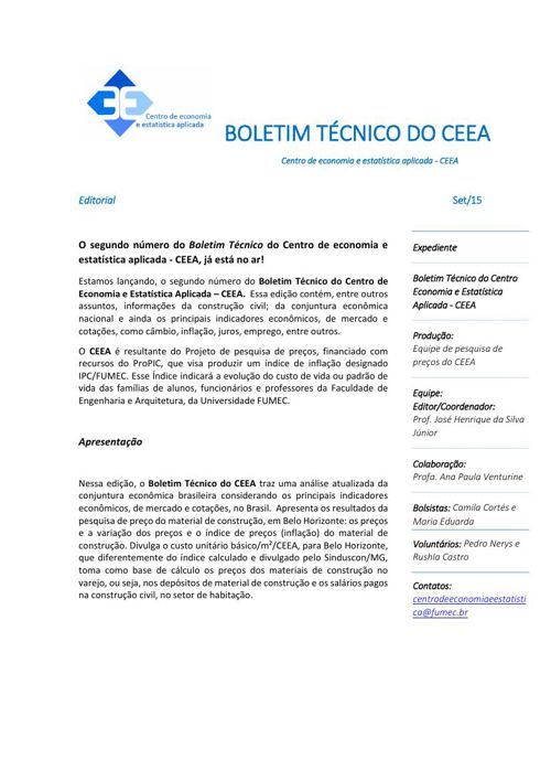 Boletim CEEA