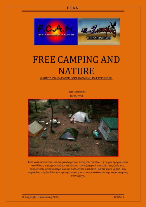 FREE CAMPING AND NATURE