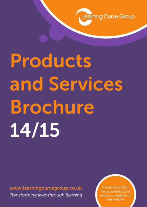 Learning Curve Group – Products and Services brochure 14/15