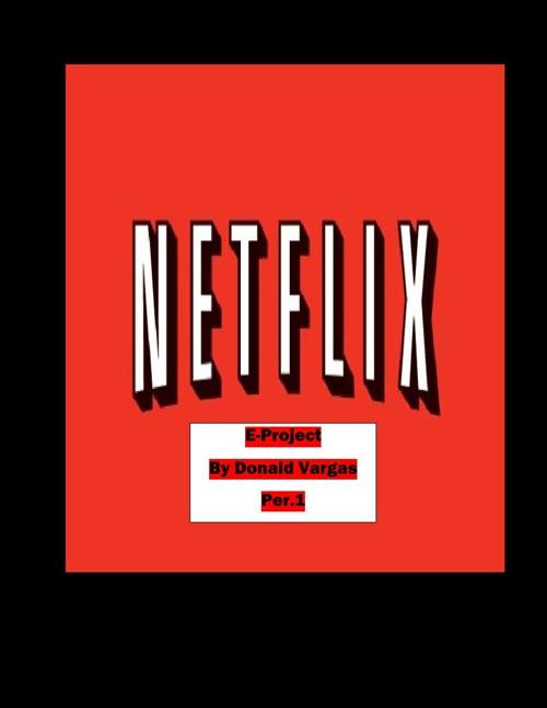 Netflix flipbook