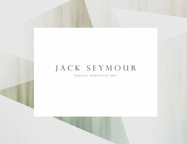 Jack Seymour- Digital Portfolio 2013