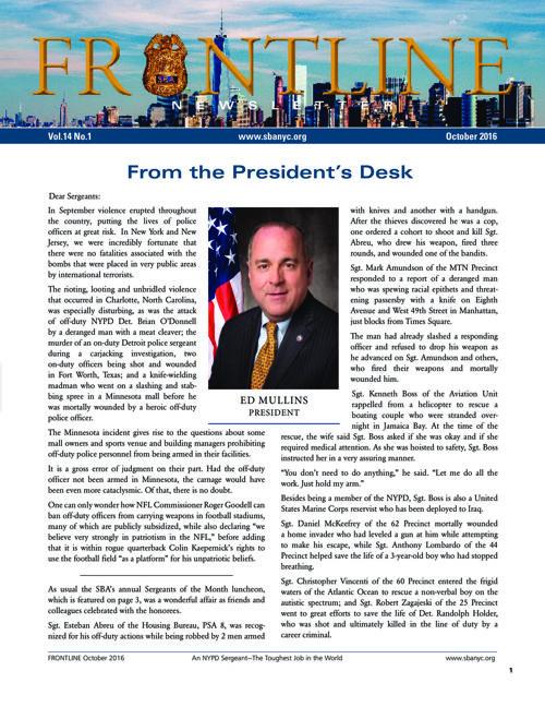 SBA Newsletter | September 2016
