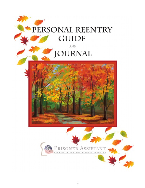 Personal Reentry Guide and Journal