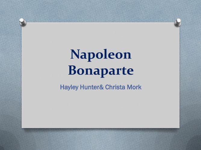 Napoleon Bonaparte lol