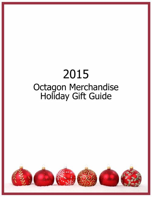 2015 Octagon Merchandise Holiday Gift Guide