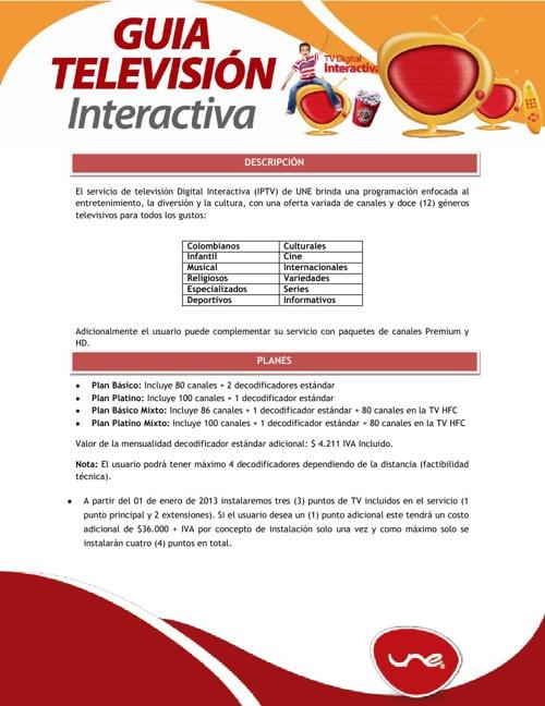 Guia TV Digital Interactiva