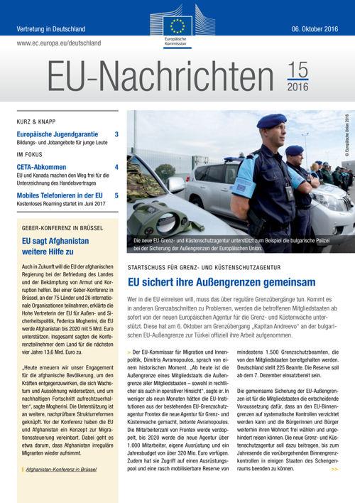 EU-Nachrichten #15