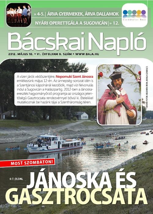 Bácskai Napló 2012.05.10.