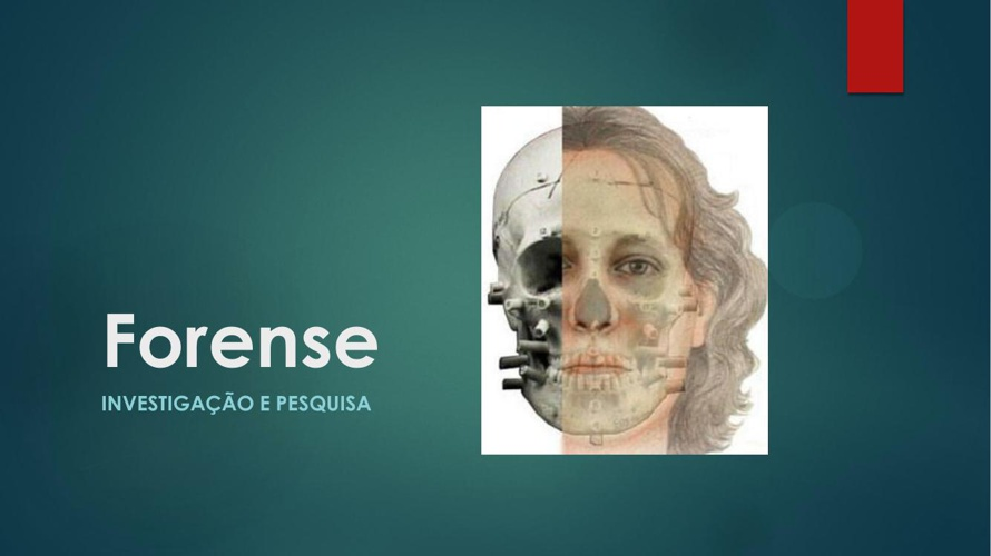 Reconstrução facial forense digital