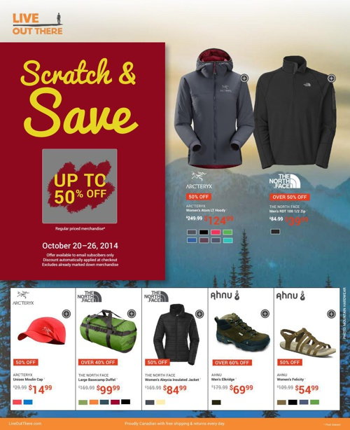 Scratch & Save + Weekly Flyer | Oct 20-26