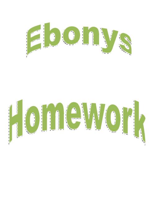 WWI Homework