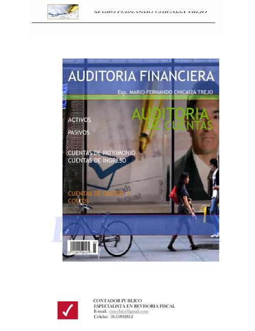Auditoría Financiera Unidad II