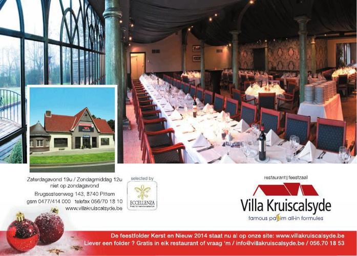 Villa Kruiscalsyde - Pittem