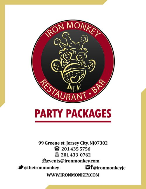 Iron Monkey Party Packages 2017