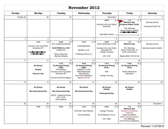 NCM Flipbook Curriculum Calendar
