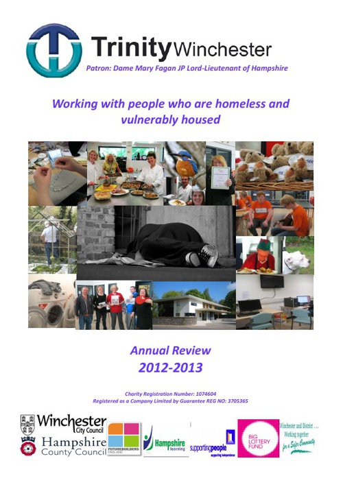 Trinity Winchester Annual Review 2012 - 2013