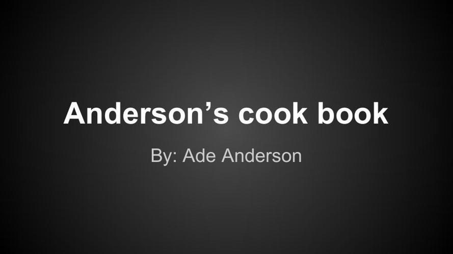 Cook Book(1)
