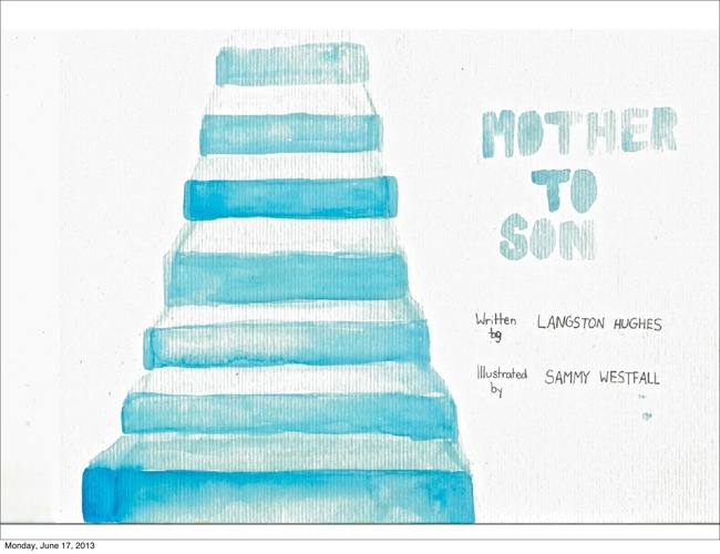Mother to Son Poem Book