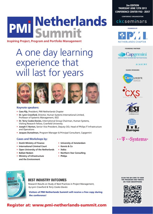 PMI Netherlands Summit 2013
