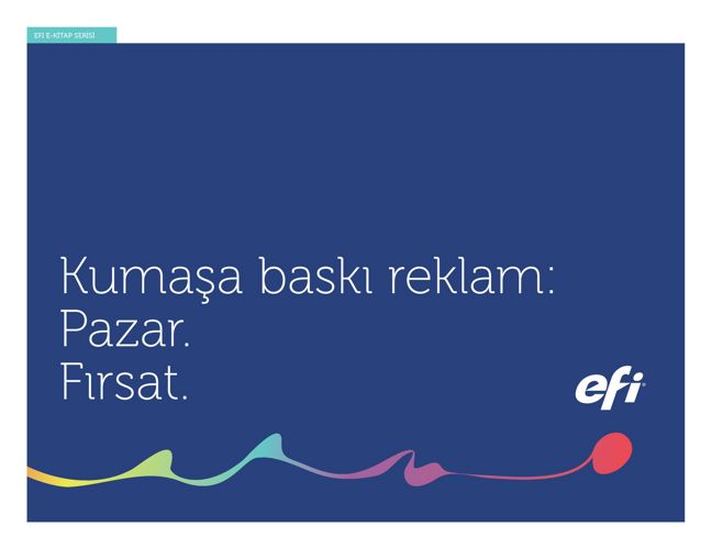 Kumaşa Baskı Reklam: Pazar. Fırsat - Turkish